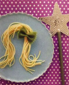 Have fun with pasta to create a Tangled themed movie snack before a movie in the backyard. - checkout Southern Outdoor Cinema's boards for more movie themed snacks.