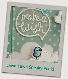 Lawn fawn sneaky peek {chit chat}
