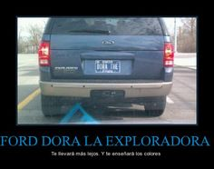 Ford Dora la Exploradora (el futuro)