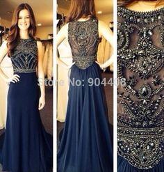 Envío gratuito nuevos beased brillante de alta clase de vestido de noche, sin mangas de moda vestido de en de en Aliexpress.com