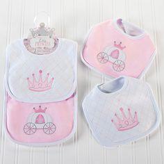 """""""Little Princess"""" Bibs - Baby Aspen"""