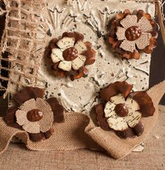 Rustic Poppy Magnets