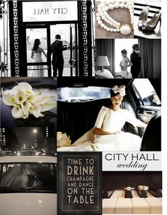 a City Hall Wedding - This is how I would do a City Hall wedding... ^_~