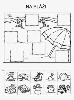 Z internetu - Sisa Stipa - Picasa Web Albums Sequencing Activities, Kindergarten Worksheets, Fun Activities, Primary School, Pre School, Hidden Pictures, Summer Activities For Kids, Cut And Paste, School Humor