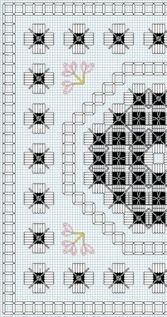 Hardanger Design by Mary Hickmott Hardanger Embroidery, Cross Stitch Embroidery, Hand Embroidery, Embroidery Designs, Types Of Embroidery, Bead Loom Patterns, Cross Stitch Patterns, Doily Patterns, Dress Patterns