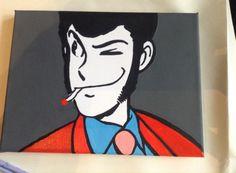 Personaggi serie Lupin, misura 18x24 creo su commissione, tutto dipinto a mano, firmato e numerato sul retro visita la mia pagina: www.facebook.com/HoneyEli75