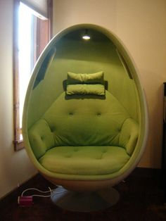 Image result for ovalia egg chair green