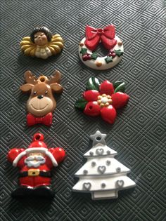 Christmas decorations I painted