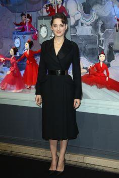 Dior!    Marion Cotillard in Christian Dior Couture | Tom & Lorenzo