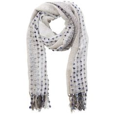 Rue Royale Gray Knit Scarf Available in my boutique https://www.chloeandisabel.com/boutique/debora