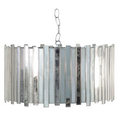 Faceted Chandelier by Worlds Away