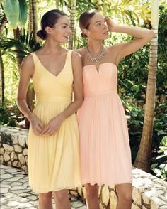 J.Crew weddings & parties/ bridesmaid dresses.