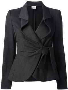 ARMANI COLLEZIONI knotted skirt suit
