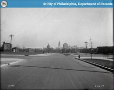 Parkway - East of 21st Street Looking Southeast -1917