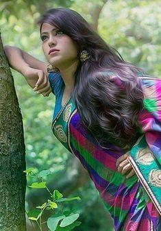 open hair with cute smile face girls ℳanmathan November 23 2018 at Long Curly Hair, Curly Hair Styles, Thick Hair, Open Hairstyles, Indian Hairstyles, Beautiful Long Hair, Beautiful Saree, Gorgeous Hair, Hair Loss Women