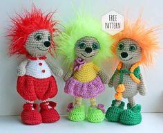 Amigurumi Hedgehog Free Pattern - Amigurumi X Crochet Mittens Free Pattern, Crochet Headband Pattern, Free Crochet, Crochet Patterns, Crochet Baby, Quick Crochet, Crochet Christmas Gifts, Crochet Gifts, Crochet Dolls