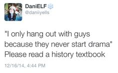 ofthemoonandsea:  As a history major it is my duty to reblog this automatically