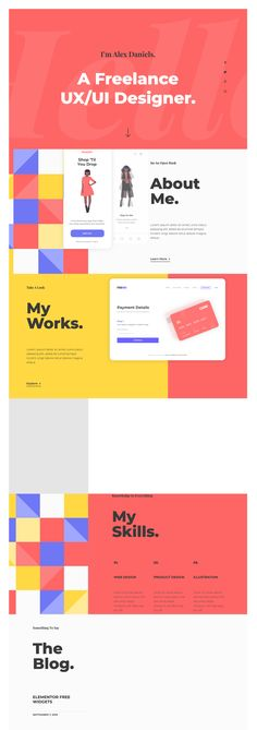 We use Elementor, the number one page builder for WordPress, to create engaging websites without code that help you grow your online business. Website Design Inspiration, Website Home Page, Page Web, Web Design, Free Website Templates, Design Research, Landing Page Design, Wordpress Template, Online Business