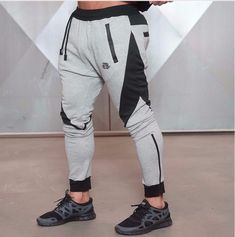 2018 Body Engineers Autumn Men Long pants Cotton Men's gasp workout fitness Pants casual sweatpants jogger pants skinny trousers