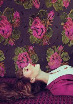 #pink #flower #lips #floral #rose