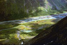 El río Rapa, dentro del Parque Nacional Sarek, Suecia.