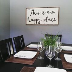 Wall Decor For Dining Room eat sign - wooden letters - wood decor - rustic decor - kitchen