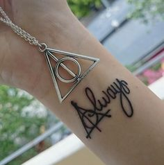 Most popular tags for this image include: always, tatuaje, harry potter, hp and potterhead