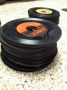 45's - Someday I would love to line a wall with these, before you can't find them anymore..and have a juke box, to play all my favorite tunes!