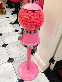 pink gumball machine