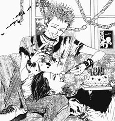 Find images and videos about manga, Nana and nana osaki on We Heart It - the app to get lost in what you love. Manga Anime, Manga Art, Anime Art, Shin Nana, Anime Forum, Yazawa Ai, Nana Komatsu, Nana Osaki, Photo Manga