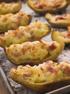 Loaded Twice-Baked Potatoes Appetizers