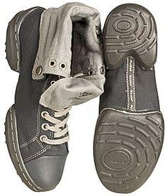 e9dc66f46d7 Rumpf 1561 Black Grey Canvas Dance Sneakers. Soft canvas upper