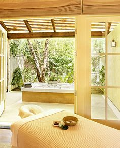 I want a spa at home!!!