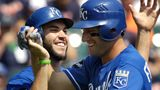 The KC Royals. Underdogs for now. But they have some excellent hitters. Now if they could get a new pitching staff...We'd be World Series Bound!!