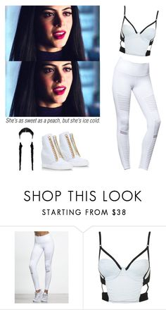 """Isabelle Lightwood sport outfit - shadowhunters"" by shadyannon ❤ liked on Polyvore featuring Casadei"