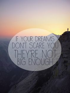 if your vision doesn't scare you it's not big enough - Google Search