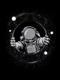 Resultado de imagen para astronaut art tumblr