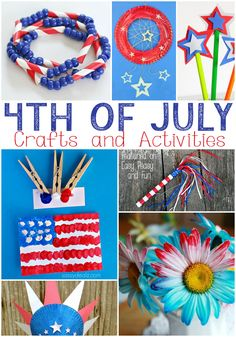 4th of July Crafts for Kids.