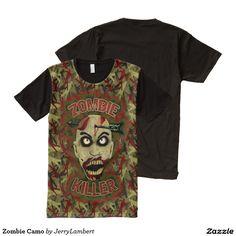 Zombie Camo All-Over Print Shirt