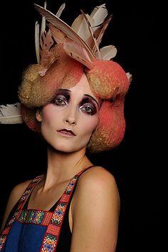 Pat McGrath makeup artistry! John Galliano/DIOR fashion show.
