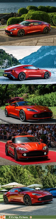 I'm in LOVE with this car. The Aston Martin Vanquish Zagato. LOVE.