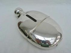 Superb-Victorian-High-Quality-Sterling-Silver-Mounted-Hip-Flask-London-1895; now part of my personal collection.