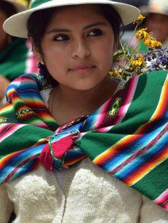 Joven Boliviana