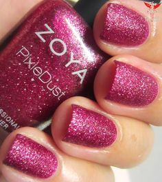 The Nail Junkie: SWATCH/REVIEW: Zoya Fall 2013 Pixie Dust Collection