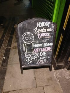 Just saw this! Immediately went for a pint : rickandmorty