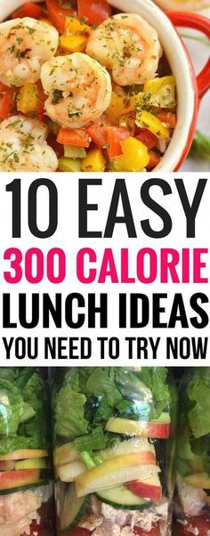 These easy 300 calorie lunch ideas are THE BEST! I'm so glad I found these 300 lunch ideas that I can use for work, meal prep and so much more. These are a great way to help me kick start my weight loss journey this year! Diet Lunch Ideas, Lunch Meal Prep, Healthy Meal Prep, Easy Healthy Recipes, Lunch Recipes, Diet Recipes, Healthy Eating, Diabetic Lunch Ideas, Pre Diabetic