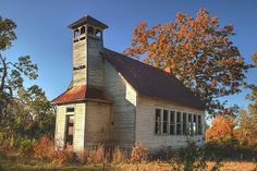 Old School House - Rural Wright County Missouri