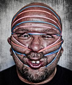 7 Funny People Pictures (Plus Tips For Creating Your Own) Funny People Pictures, Funny Photography, Portrait Photography, Crazy People, Strange People, Strange Things, Trap, Rubber Bands, Up Girl