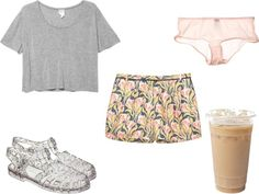 """don't be jelly"" by themilkyway ❤ liked on Polyvore"
