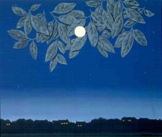 Magritte - The Blank Page, 1967